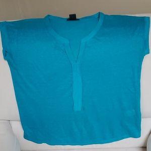 Lucky Brand Linen Tee Shirt